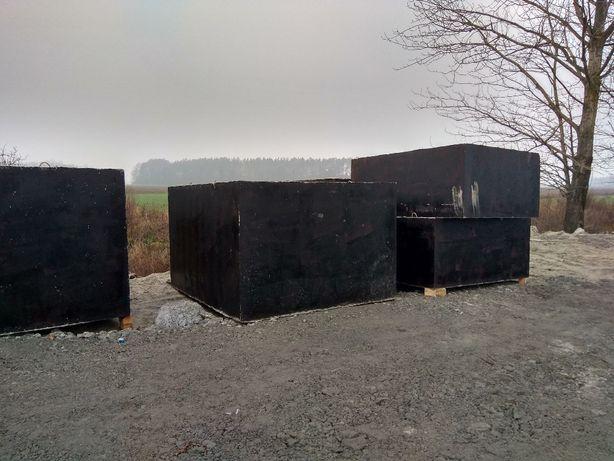 Zbiornik betonowy.Szambo,Zbiorniki,Szamba betonowe-Transport-Montaż