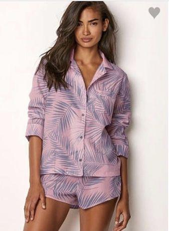 Victoria's Secret оригинал пижама комплект белье розовый
