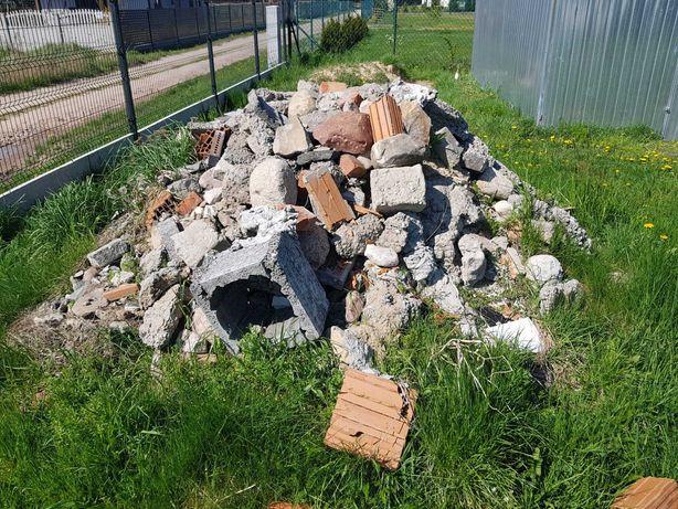 Oddam gruz betonowy, kamienie