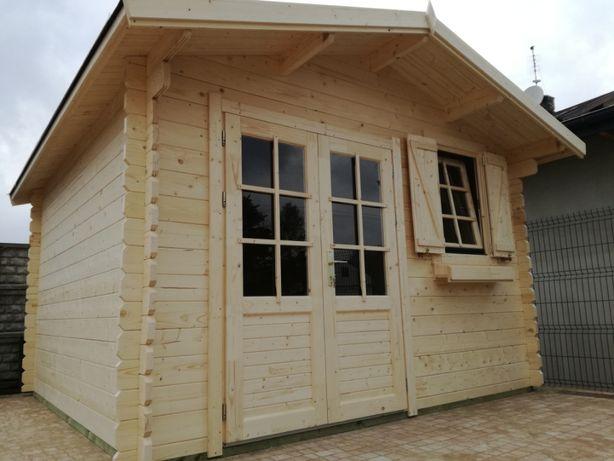 Domek ogrodowy 4.0x4.0m 34mm drewniany składzik - szybka realizacja!!!