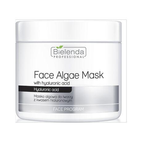 Bielenda maska algowa z kwasem hialuronowym 190g + serum