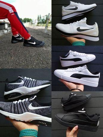 Распродажа мужские кроссовки Puma,Nike presto,huarache,free run