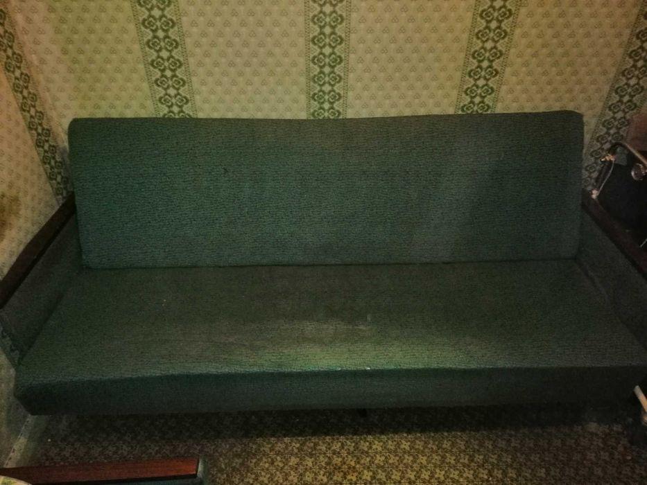 Диван пружинний зелений Полтава - изображение 1