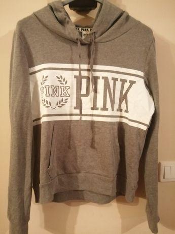 Bluza Pink Victoria Secret z kapturem, rozmiar M.