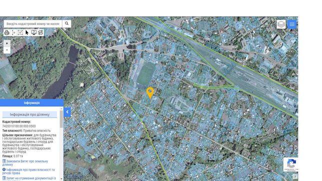 Продам приватизовану земельну ділянку під забудову в м.Бахмач