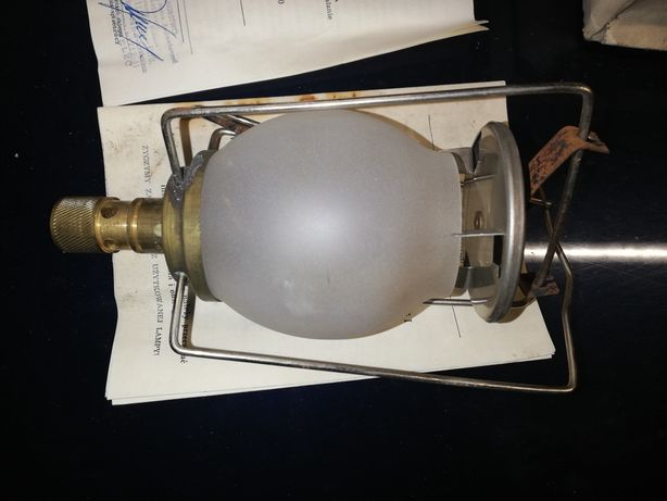 Gazowa lampa turystyczna