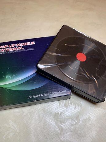 Зовнішній usb dvd дисковод external odd&hdd device