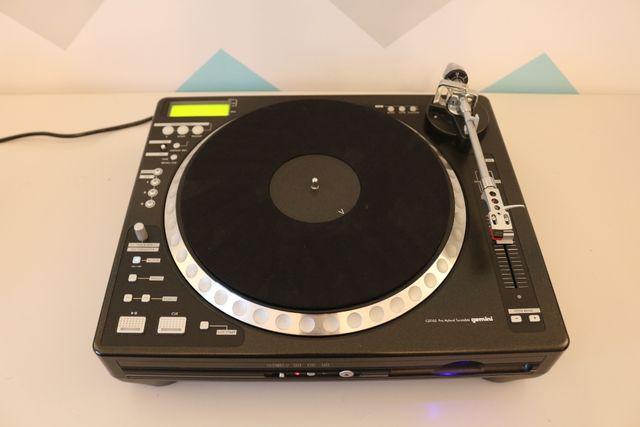 Gemini CDT-05 Gramofon Hybrydowy - Odtwarzacz CD MP3 Player