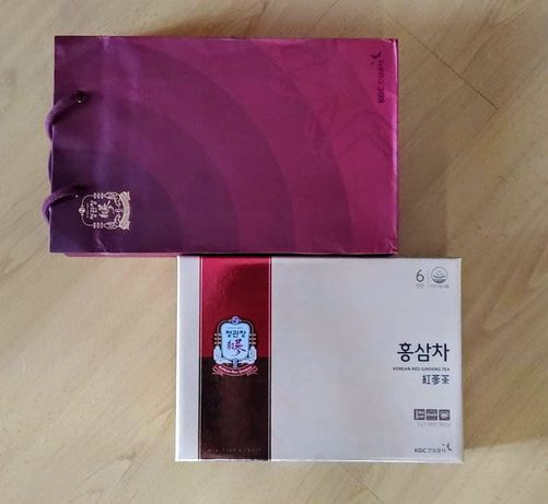 Cheong Kwan Jang KGC Chá em pó de extrato de ginseng