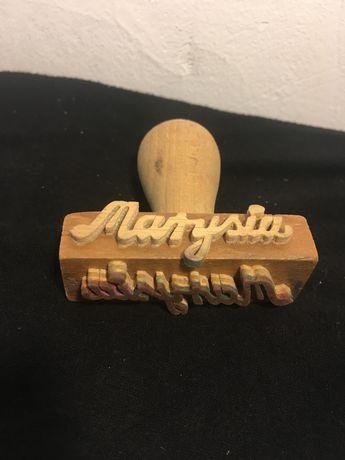 Stempel z imieniem Marysia