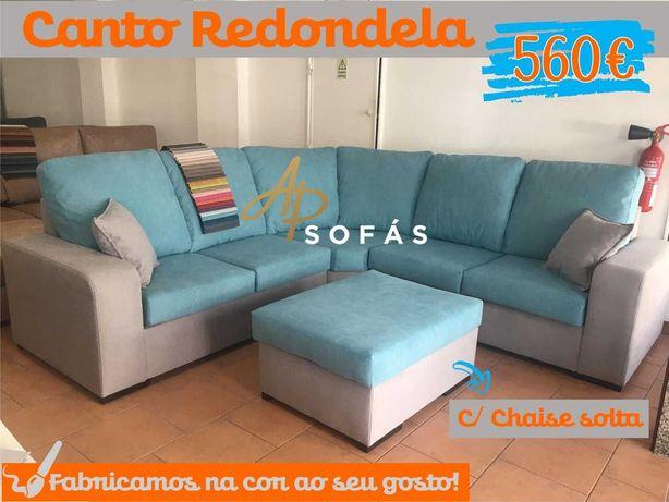 Sofá de canto + chaise solta- Fabricantes