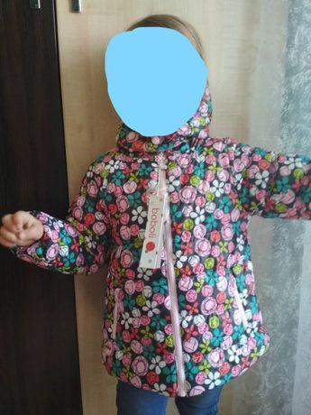Куртка деми двусторонняя Boboli Zara для девочки близнецов демисезонн