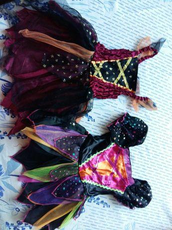 Дві сукні карнавальні 1р і 2- 3роки