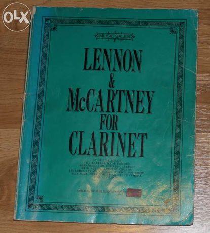 Lennon & McCartney for Clarinet