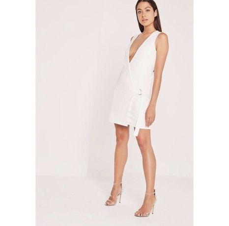 Нежное белое платье хлопковое Asos