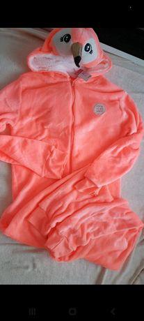 Pajac piżama Flaming