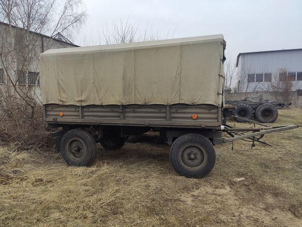 Przyczepa D46 - sztywna z Wojska Polskiego faktura VAT