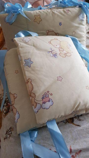 Бортики защитные в кроватку