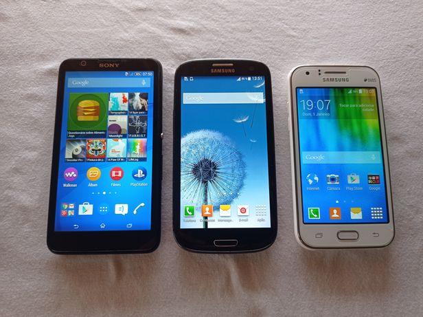 Telemóveis Samsung/Sony