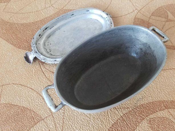 Утятница/гусятница 3 литра алюминий 5 мм не пригорает