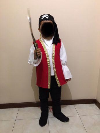 Fato Carnaval Pirata