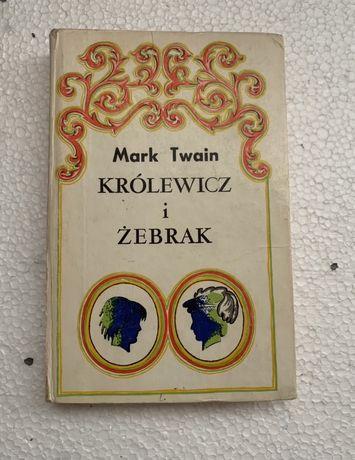 "Książka- ""Królewicz i Żebrak"" M. Twain"
