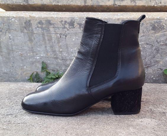 Кожаные демисезонные ботинки сапоги Pasito 39 р. Оригинал