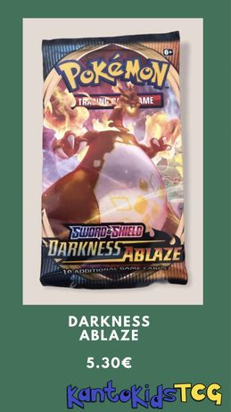 Boosters Pokémon Darkness Ablaze para break