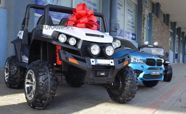 Dwuosobowe auto na akumulator Grand Buggy 4x45W /EVA 4x4 Terenowe