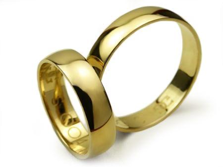 -20% Klasyczne Złote Obrączki pr. 585 S004 5mm - CHORZÓW Goldrun