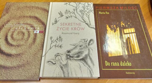 Zestaw książek - Sekretne życie krów, alchemik, pierwsza miłość M.Fox