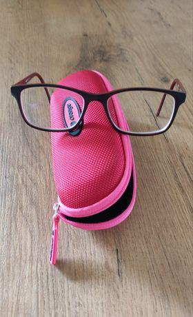 Oprawki na okulary dziecięce, 9-10 lat, futerał
