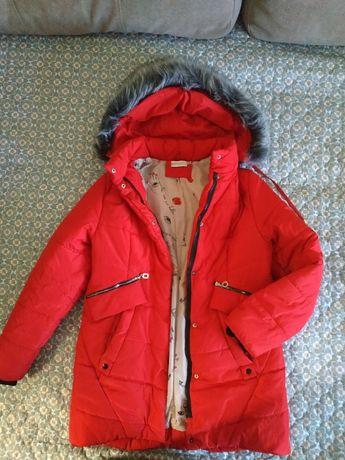 Зимняя куртка пальто р. 48 -52