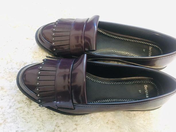 Женские туфли лоферы / размер 37