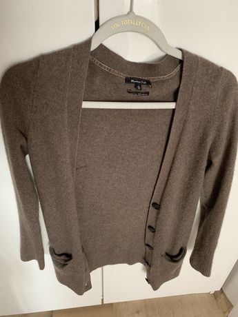 Kaszmirowy sweter Massimo Dutti XS 34