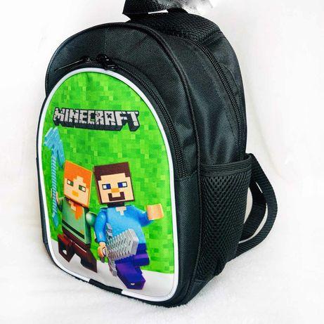 Мини рюкзачек рюкзак детский прогулочный Майнкрафт Minecraft розн опт