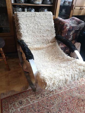 Fotel bujany, proj. H. Kaufeld, Niemcy, lata 70.
