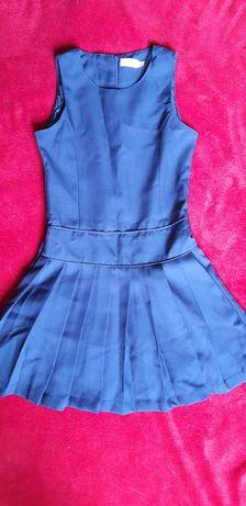 Granatowa sukienka dla dziewczynki