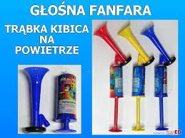 Trąbka Trąbki Fanfary z Tłokiem na powietrze Kibic Kibica Polski (FL)