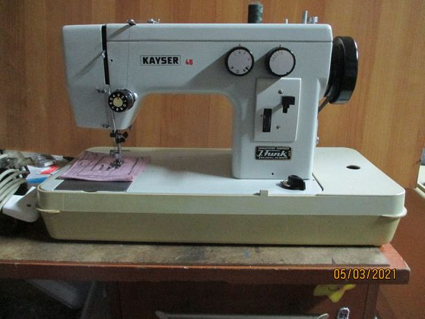 Maszyna do szycia Kayser Pfaff niemiecka z walizką!