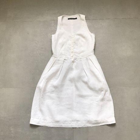 Penny Black платье лен brunello cucinelli