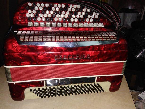 akordeon excelsior 5-cio chórowy 120 basów