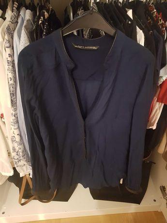 Granatowa koszula Zara L