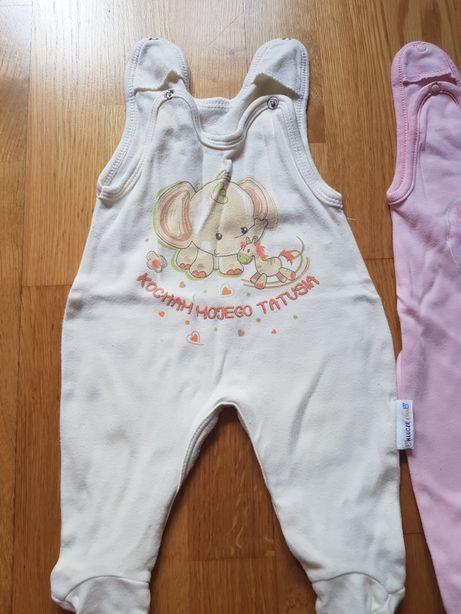 Śpioszki niemowlęce na 56 Ewa Klucz Pinokio