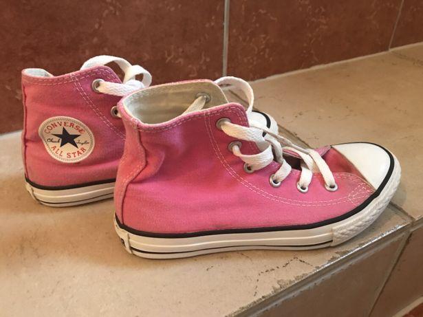 Converse różowe 31.5