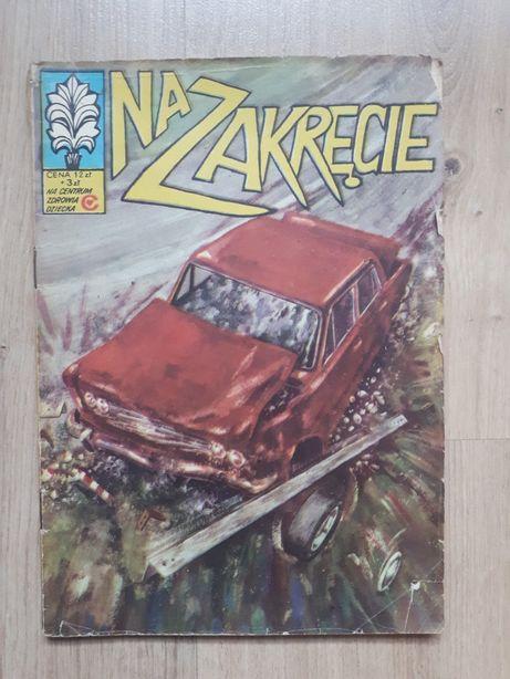 Komiks Kapitan Żbik Na Zakręcie 1981