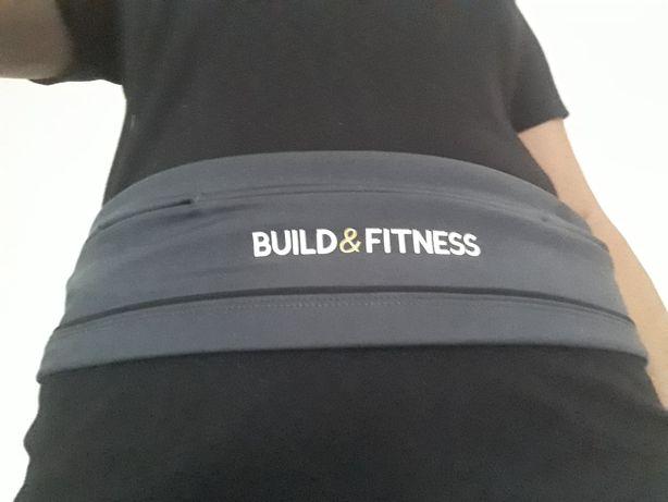 Бренд build & fitness пояс для занятий спортом