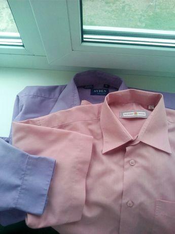 Рубашка , тенниска школьная для мальчика размер (34,35) на 12-13 лет