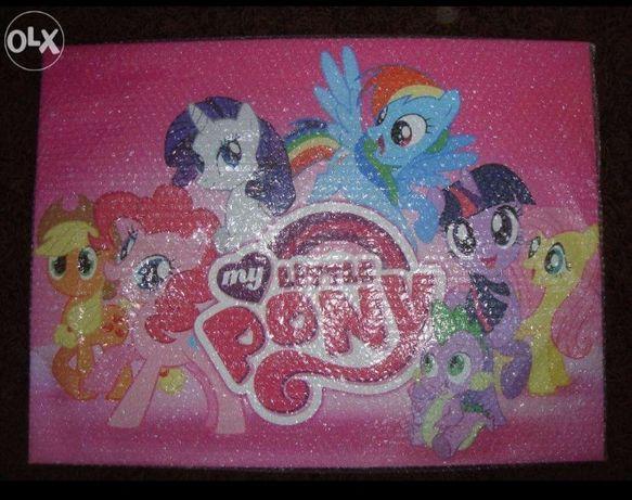Obraz obrazek My Little pony kucyki pony nowy duży