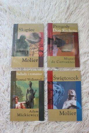 Lektury Wszech czasów Skąpiec Świętoszek Ballady i Romanse Don Kichot